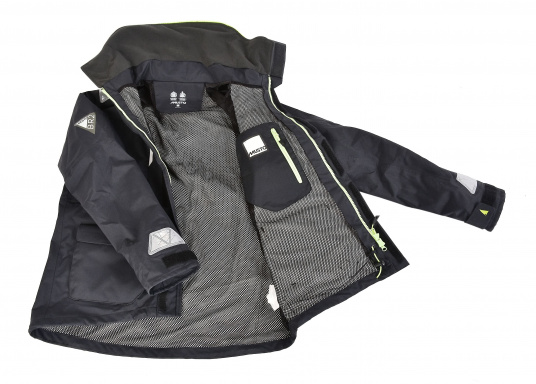 With features tested by elite offshore sailors, every detail has been carefully considered. Truly waterproof and breathable, this is foul weather protection for sailors spending a considerable amount of time on the water. (Image 4 of 6)