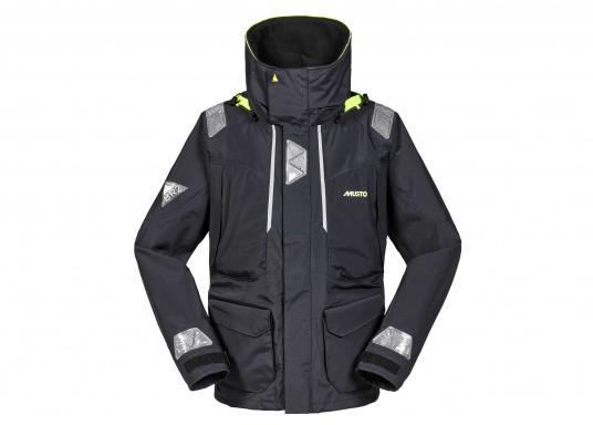 With features tested by elite offshore sailors, every detail has been carefully considered. Truly waterproof and breathable, this is foul weather protection for sailors spending a considerable amount of time on the water.