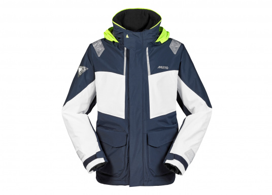 Designed for cruising sailors who spend considerable time on the water. The jacket is mesh lined and is fully waterproof and breathable. Features such as the high fleece-lined collar, a double storm flap and fleece lined pockets will enhance comfort on the water.