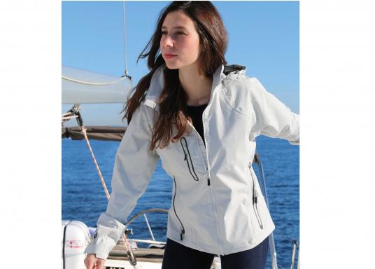 Die Sardinia Jacke ist speziell entwickelt worden, um sich bei warmen Wetter gegen Gischt und Regen zu schützen. Ideal für den Sommer und für warme Reviere. (Bild 4 von 8)