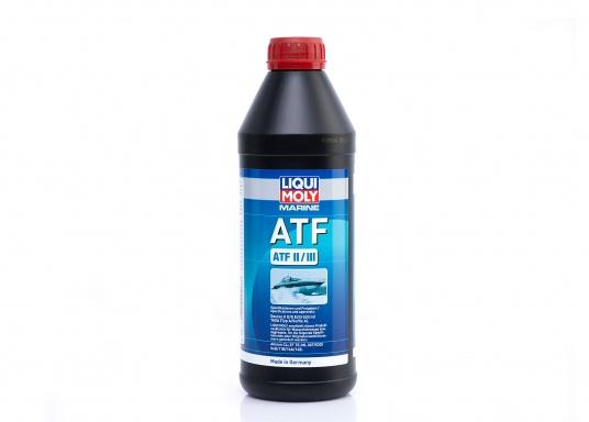 Speziell für den Marinebereich entwickeltes ATF-Öl von LIQUI MOLY auf Basis Synthesetechnologie und modernster Additivtechnologie. Bietet im Vergleich zu herkömmlichen ATF-Ölen erhöhten Korrosionsschutz und minimierten Verschleiß.