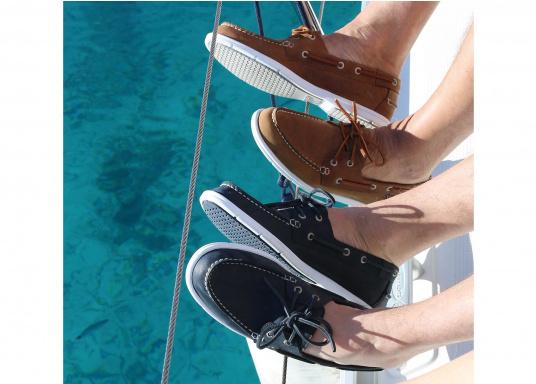 LITESIDES ist der neue, ultraleichte Bootsschuh und er steht für den puren Komfort am Fuß. (Bild 5 von 5)
