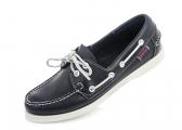 DOCKSIDES Women's Boat Shoe / blue