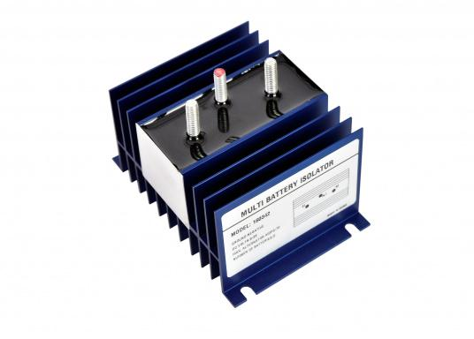 Trenndioden gehören zu den bekanntesten Komponenten der traditionellen Ladetechnik. Sie ermöglichen das gleichzeitige Laden von getrennten Batteriesystemen, ohne dass es während des Ladens oder bei Entladung/Belastung zu möglichen Ausgleichsstömen zwischen den Batterien kommen kann.