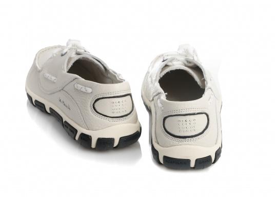 Superbequemer, optisch ansprechender Segel-Schuh aus weichem Kalbsleder. Super geschmeidig und daher auch unbedenklich barfuß zu tragen.  (Bild 4 von 6)