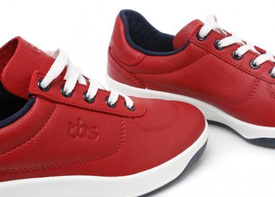 Optisch ansprechender Damen-Sneaker aus der Easywalk-Serie von TBS. Das weiche Büffelleder macht den erstklassig verarbeiteten Schuh enorm haltbar. (Bild 3 von 5)
