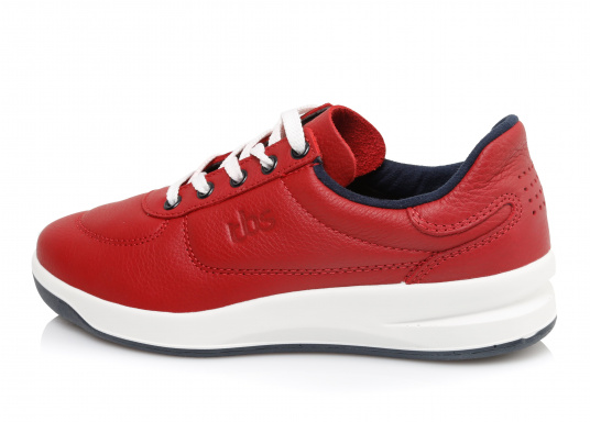 Optisch ansprechender Damen-Sneaker aus der Easywalk-Serie von TBS. Das weiche Büffelleder macht den erstklassig verarbeiteten Schuh enorm haltbar. (Bild 4 von 5)