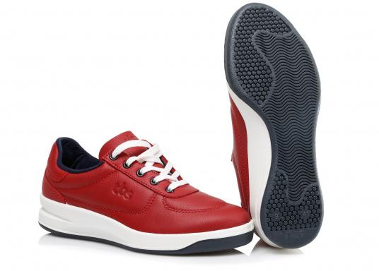 Optisch ansprechender Damen-Sneaker aus der Easywalk-Serie von TBS. Das weiche Büffelleder macht den erstklassig verarbeiteten Schuh enorm haltbar. (Bild 2 von 5)