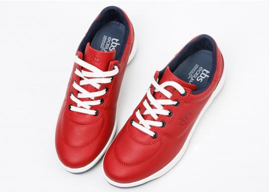 Optisch ansprechender Damen-Sneaker aus der Easywalk-Serie von TBS. Das weiche Büffelleder macht den erstklassig verarbeiteten Schuh enorm haltbar. (Bild 5 von 5)