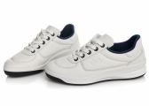 BRANDY Boat Shoes / white/navy