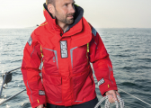 OS1 Men's Offshore Jacket / red