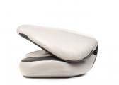 Chaise pliante grise