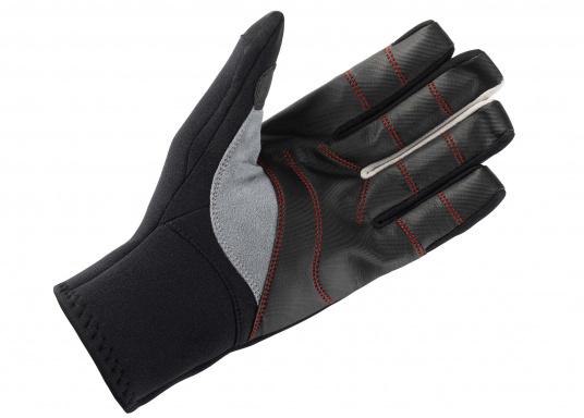 Die nahtlose Fingerkonstruktion bietet mehr Haltbarkeit, Griffigkeit und erhöht die Abriebfestigkeit.  (Bild 3 von 3)