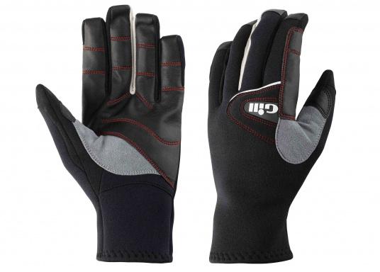 Die nahtlose Fingerkonstruktion bietet mehr Haltbarkeit, Griffigkeit und erhöht die Abriebfestigkeit.