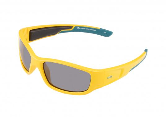 Modern, buoyant sunglasses with UV protection and 100% non-glare, polarized lenses especially designed for use on the water. (Image 2 of 3)