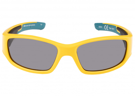 Modern, buoyant sunglasses with UV protection and 100% non-glare, polarized lenses especially designed for use on the water.