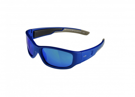 Moderne, schwimmfähige Sonnenbrille mit UV-Schutz und 100 % blendfreien, polarisierten Linsen speziell zum Gebrauch auf dem Wasser.