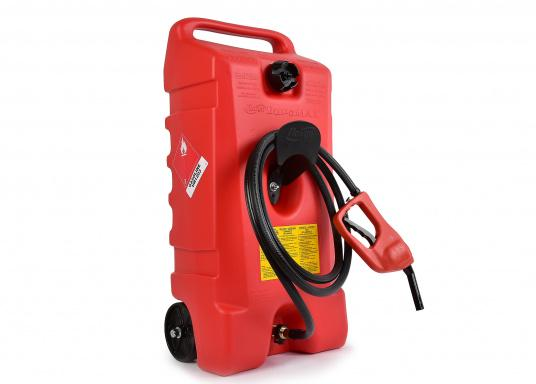 DURAMAX has been developed for industrial, commercial and leisure activities, and it's ideal for marine applications. DURAMAX offers a safe, fast and convenient way to refill lawn mowers, boat engines, generators, etc.