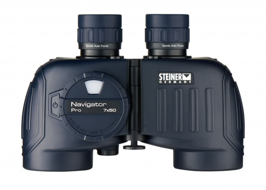 Erste Wahl für Charterer, Wassersport-Enthusiasten und Hobbysegler! Das NAVIGATOR PRO 7x50c mit Kompass ist zuverlässig, einfach zu benutzen und sehr robust. (Bild 3 von 8)