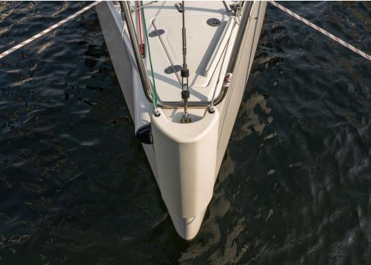 Il parabordo PVM1 del marchio Ocean è il primo e unico parabordo realizzato in materiale espanso flessibile PU e quindi non può perdere aria. (Immagine 9 di 9)