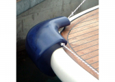 Parabordo angolare PVM2 / bianco