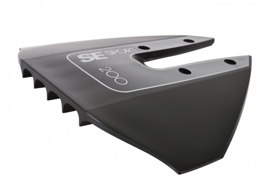 Die Außenborder-Tragfläche sorgt für eine Erhöhung der Leistung und Stabilität Ihres Außenborders, während Sie den Kraftstoffverbrauch verringert. Geeignet für Außenborder von 8 PS bis 40 PS Leistung.