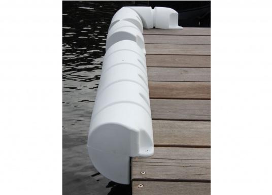 Sicheres und unbeschwertes Anlegen auch bei starker Strömung und Seitenwind. Diese Bumperfender sind wahre Stoßstangen für Ihr Schiff und die Steganlage. (Bild 5 von 6)