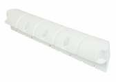 SMALL Pontoon Fender, straight / white