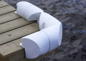 Pontoon and Bumper Fender, angled version