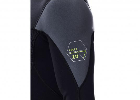 """Dieser Neoprenanzug ist aus 2 mm""""Nuclear-Flex"""" Neopren (3 mm an den verstärkten Zonen) hergestellt. Er bietet eine extrem hohe Flexibilität sowieBewegungsfreiheit und ist daher ideal für Wassersportaktivitäten. (Bild 5 von 7)"""