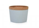 STORE & STACK Bamboo Containers / powder blue