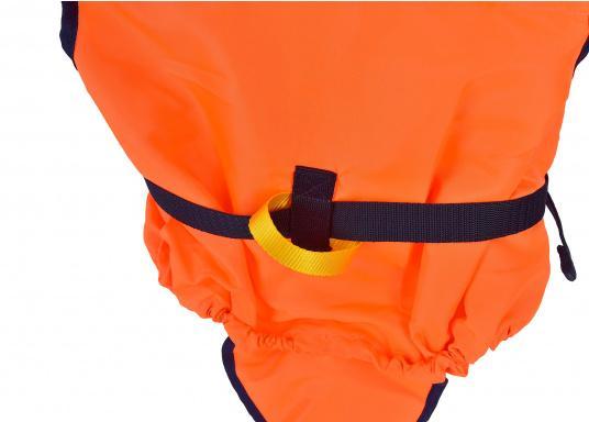 Pour les petits équipiers du bord ! Gilet de sauvetage 100 N. La tête du naufragé, conscient ou inconscient est gardée hors de long. (Image 3 de 4)