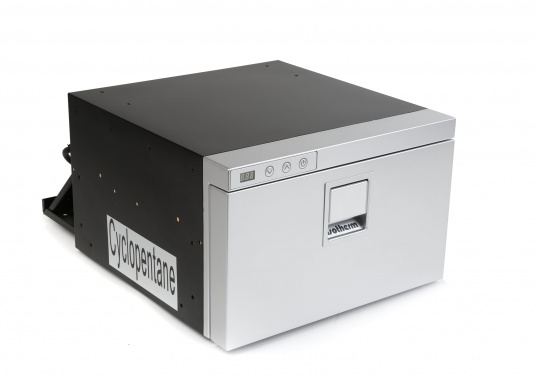 Neue, platzsparende Kühlschublade mit Edelstahlfront in zeitlosem Design. Kann selbst unter begrenzten Platzverhältnissen problemlos eingebaut werden. Mit digitalem Display. (Bild 3 von 11)