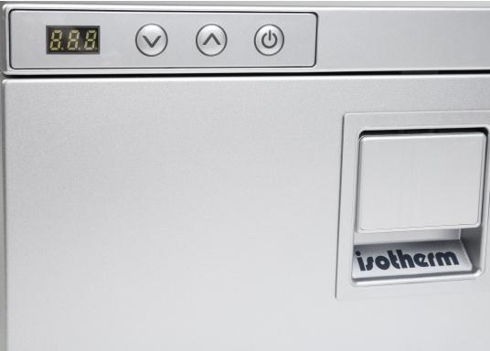 Neue, platzsparende Kühlschublade mit Edelstahlfront in zeitlosem Design. Kann selbst unter begrenzten Platzverhältnissen problemlos eingebaut werden. Mit digitalem Display. (Bild 5 von 11)