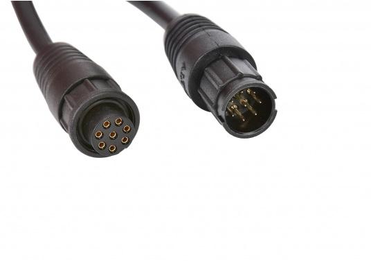 Verlängerungskabel CT-100 für die RAM Bedienteile von Standard Horizon. Das Kabel wird zwischen Funkgerät und Verbindungskabel für den Handhörer integriert. Kabellänge: 7 m. (Bild 2 von 2)