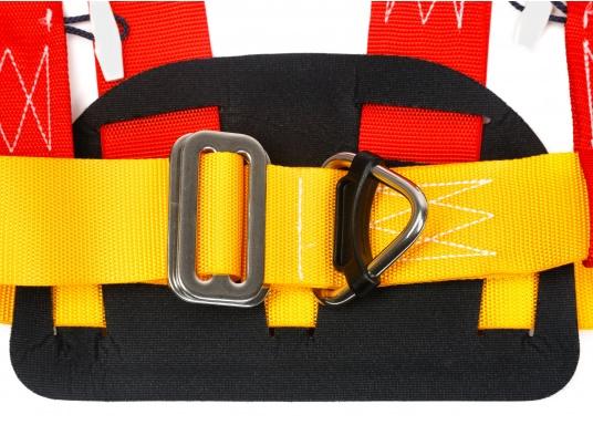 PLASTIMO Lifebelt 2 für Personen ab 50 kg. Dank der verstellbaren Gurte kann der Lifebelt auf jede Körperform ideal angepasst werden. Das weiche Rückenteil sorgt für einen hohen Tragekomfort. (Bild 3 von 6)