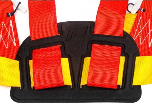 PLASTIMO Lifebelt 2 für Personen ab 50 kg. Dank der verstellbaren Gurte kann der Lifebelt auf jede Körperform ideal angepasst werden. Das weiche Rückenteil sorgt für einen hohen Tragekomfort. (Bild 4 von 6)