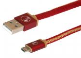USB-Kabel / 1 m / rot