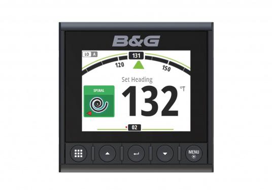 Die B&G Triton² Instrumentenanzeige ist das klarste Mehrzweck-Segelinstrument- und Autopilot-Display, mit einem 4,1-Zoll Farbbildschirm, der optische gebunden ist, um keine Kondensation zuzulassen. (Bild 4 von 12)