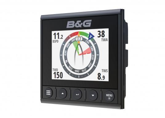Die B&G Triton² Instrumentenanzeige ist das klarste Mehrzweck-Segelinstrument- und Autopilot-Display, mit einem 4,1-Zoll Farbbildschirm, der optische gebunden ist, um keine Kondensation zuzulassen. (Bild 3 von 12)