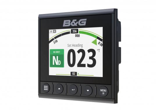 Die B&G Triton² Instrumentenanzeige ist das klarste Mehrzweck-Segelinstrument- und Autopilot-Display, mit einem 4,1-Zoll Farbbildschirm, der optische gebunden ist, um keine Kondensation zuzulassen. (Bild 6 von 12)