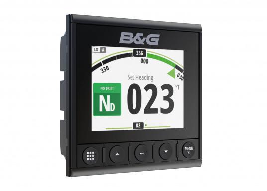 Die B&G Triton² Instrumentenanzeige ist das klarste Mehrzweck-Segelinstrument- und Autopilot-Display, mit einem 4,1-Zoll Farbbildschirm, der optische gebunden ist, um keine Kondensation zuzulassen. (Bild 7 von 12)
