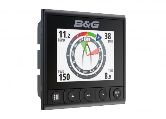 Die B&G Triton² Instrumentenanzeige ist das klarste Mehrzweck-Segelinstrument- und Autopilot-Display, mit einem 4,1-Zoll Farbbildschirm, der optische gebunden ist, um keine Kondensation zuzulassen.