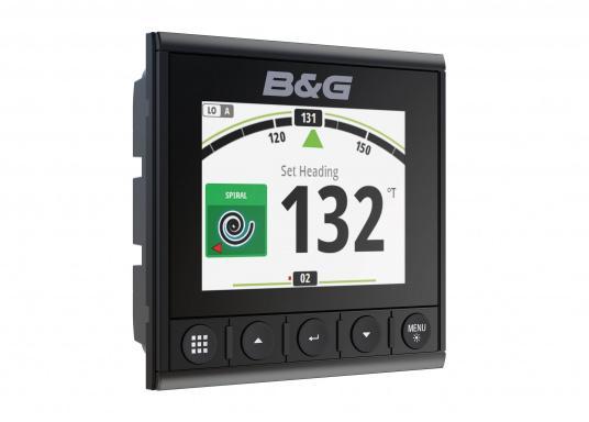 Die B&G Triton² Instrumentenanzeige ist das klarste Mehrzweck-Segelinstrument- und Autopilot-Display, mit einem 4,1-Zoll Farbbildschirm, der optische gebunden ist, um keine Kondensation zuzulassen. (Bild 8 von 12)