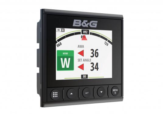 Die B&G Triton² Instrumentenanzeige ist das klarste Mehrzweck-Segelinstrument- und Autopilot-Display, mit einem 4,1-Zoll Farbbildschirm, der optische gebunden ist, um keine Kondensation zuzulassen. (Bild 9 von 12)