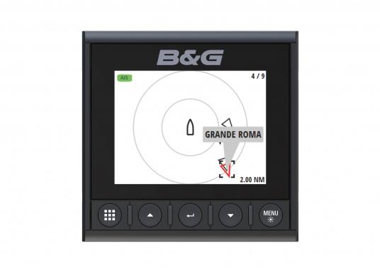 Die B&G Triton² Instrumentenanzeige ist das klarste Mehrzweck-Segelinstrument- und Autopilot-Display, mit einem 4,1-Zoll Farbbildschirm, der optische gebunden ist, um keine Kondensation zuzulassen. (Bild 10 von 12)