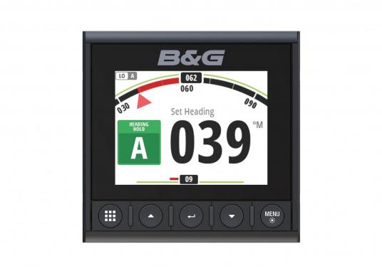 Die B&G Triton² Instrumentenanzeige ist das klarste Mehrzweck-Segelinstrument- und Autopilot-Display, mit einem 4,1-Zoll Farbbildschirm, der optische gebunden ist, um keine Kondensation zuzulassen. (Bild 11 von 12)
