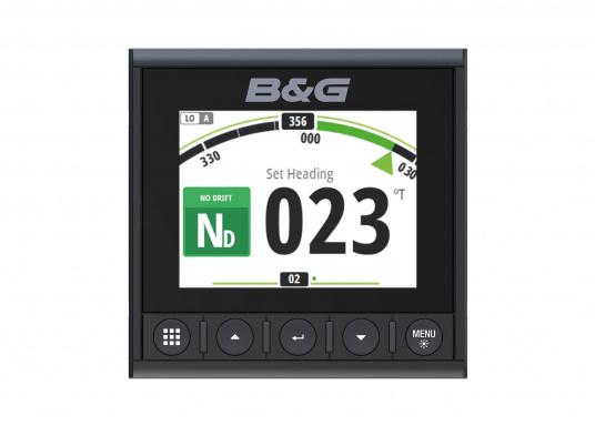 Die B&G Triton² Instrumentenanzeige ist das klarste Mehrzweck-Segelinstrument- und Autopilot-Display, mit einem 4,1-Zoll Farbbildschirm, der optische gebunden ist, um keine Kondensation zuzulassen. (Bild 12 von 12)