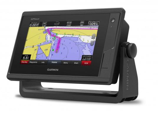 Kartenplotter GPSMAP 722 mit 7 Zoll großem Touchscreen und intuitiver Bedienung sowie NMEA2000 und NMEA 0183 Unterstützung. (Bild 3 von 4)