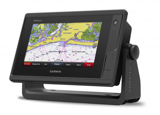 Kartenplotter GPSMAP 722 mit 7 Zoll großem Touchscreen und intuitiver Bedienung sowie NMEA2000 und NMEA 0183 Unterstützung. (Bild 4 von 4)